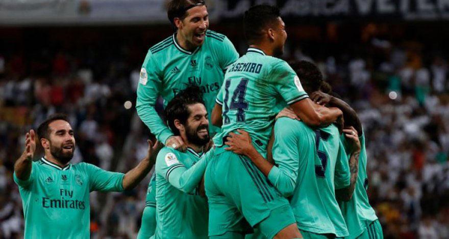 """""""Real Madrid"""" finalda"""