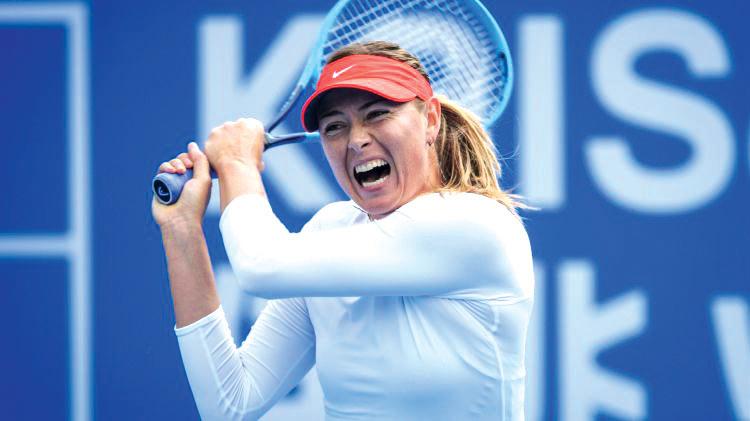 """Mariya Şarapova Avstraliya Açıq çempionatına """"wild card""""la qoşulacaq"""