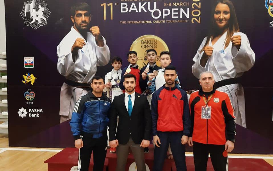 """""""Judo Club 2012""""nin karateçilərindən beynəlxalq turnirdə 5 medal"""