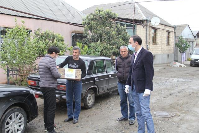Veteran idmançılara yardım edilib