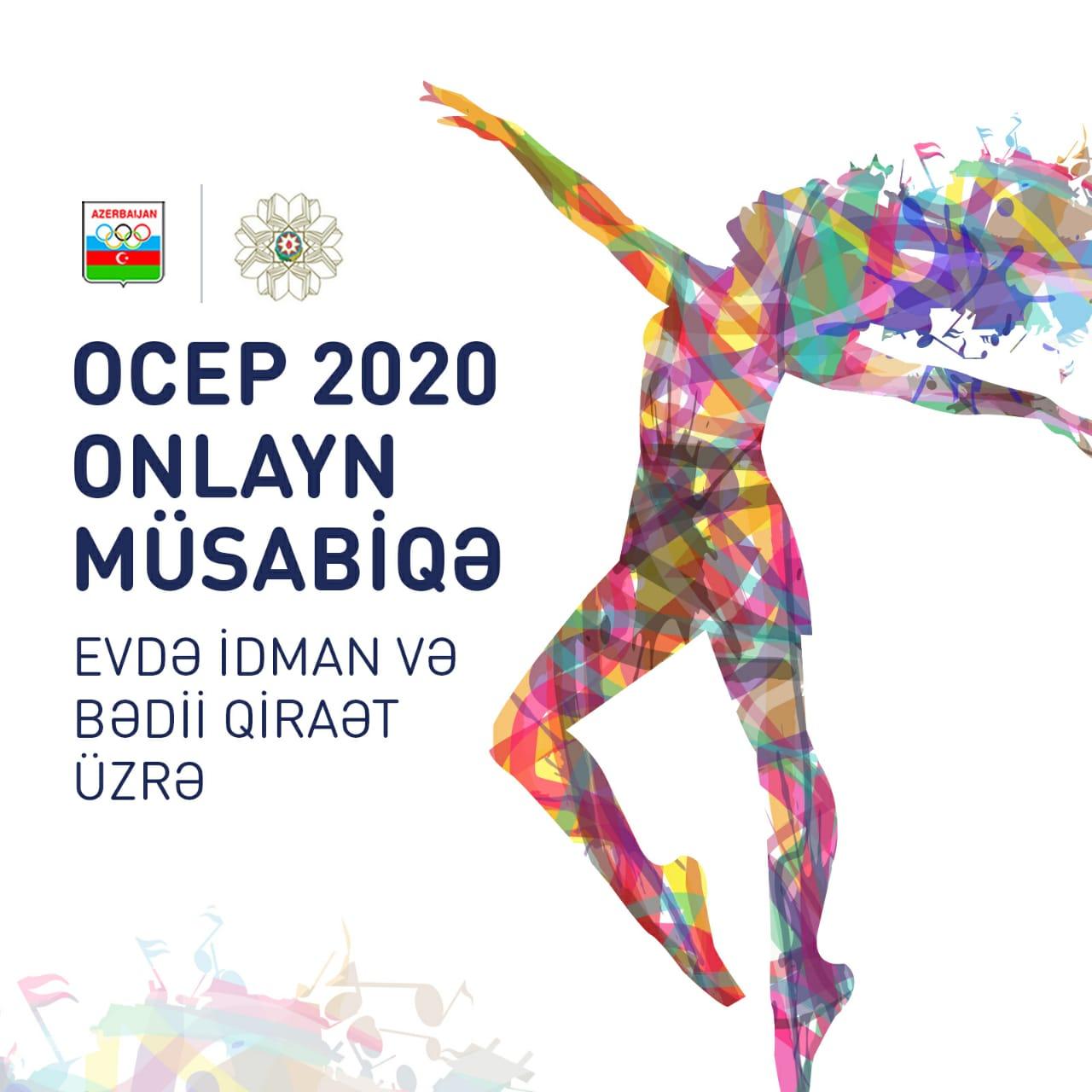 """OCEP 2020: """"Evdə idman və Bədii Qiraət"""" üzrə online müsabiqə"""