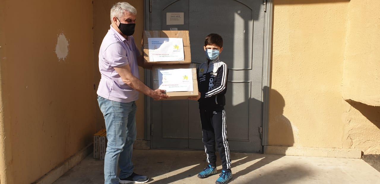 "Real Madrid"" Fondundan sosial yardım"