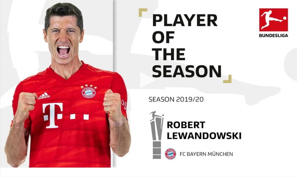 Levandovski Bundesliqanın ən yaxşısıdır