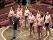 Tokioda «Böyük sumo» turniri keçirilir