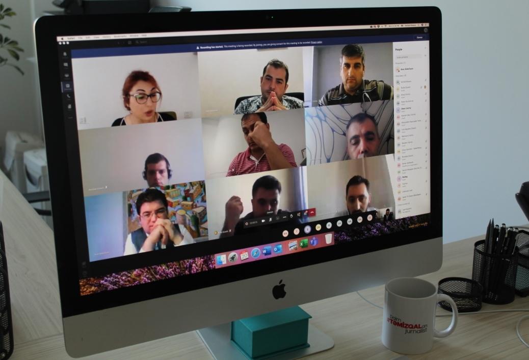"""Virtual kafe"""" formatında videokonfrans"""