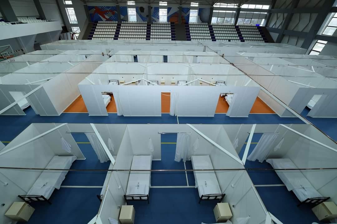 Abşeron və Hövsan Olimpiya İdman kompleksləri modul tipli xəstəxanaya çevrildi