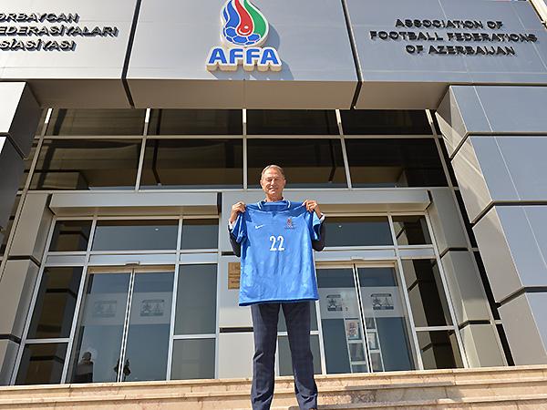 Baş məşqçi AFFA-da