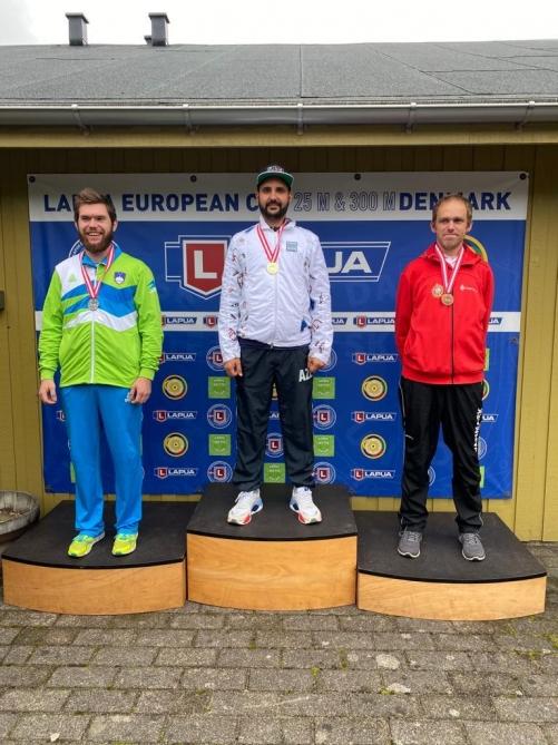Ruslan Lunyov Avropa kubokunun dördüncü mərhələsinin qalibi oldu