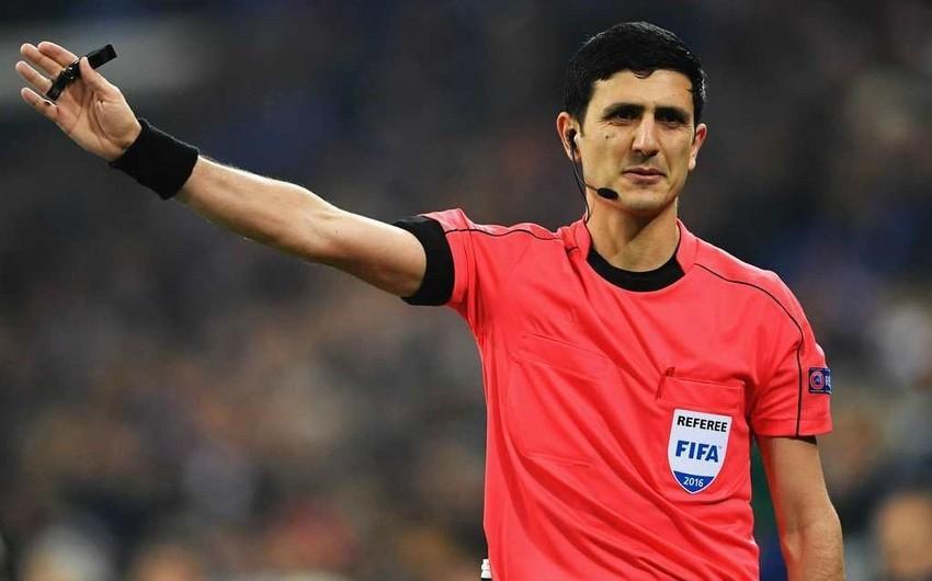 Azərbaycanlı FİFA referisi Avropa Liqasının oyununa təyinat aldı