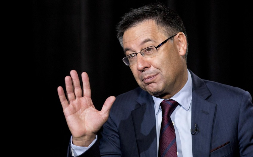 """""""Barselona""""nın prezidenti vəzifəsindən istefa verdi"""