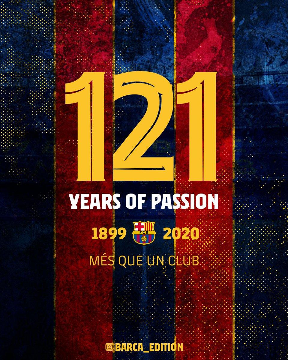 """""""Barselona""""nın 121 yaşı tamam olur"""