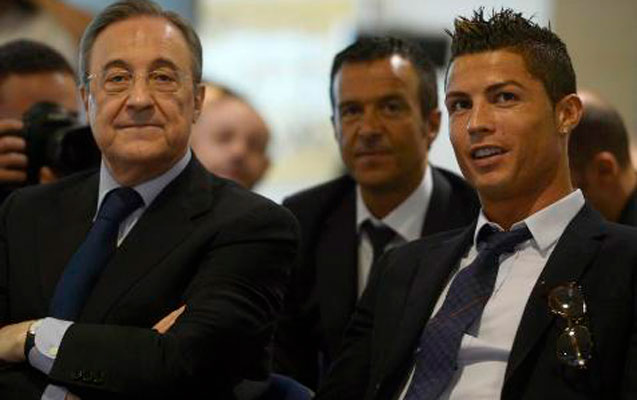 """Kriştianu Ronaldo """"Real""""ın prezidenti ilə görüşdü"""