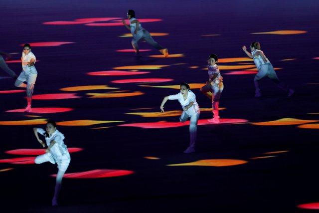 XXXII Yay Olimpiya Oyunlarının açılış mərasimi - Fotoreportaj