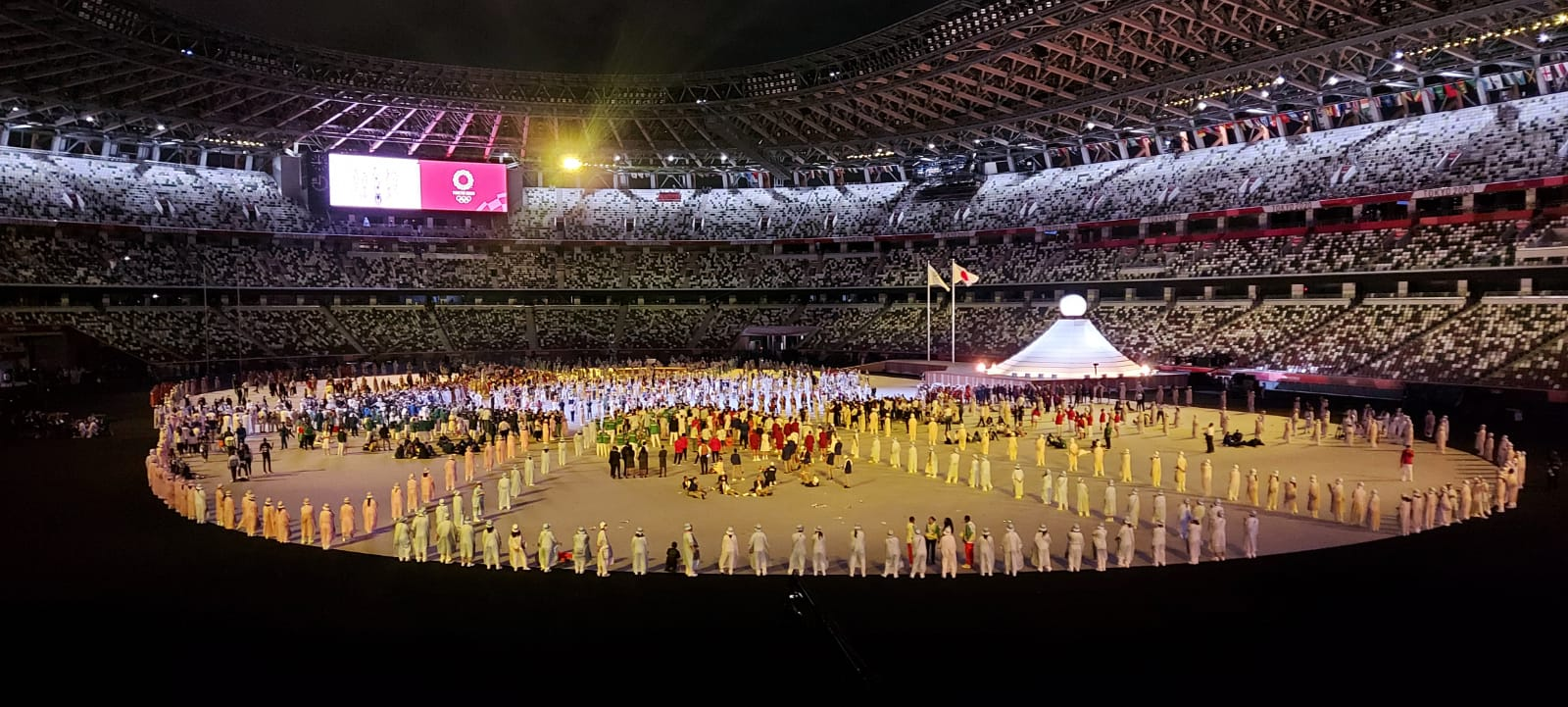 Tokio-2020: Açılış mərasimindən görüntülər - VİDEO
