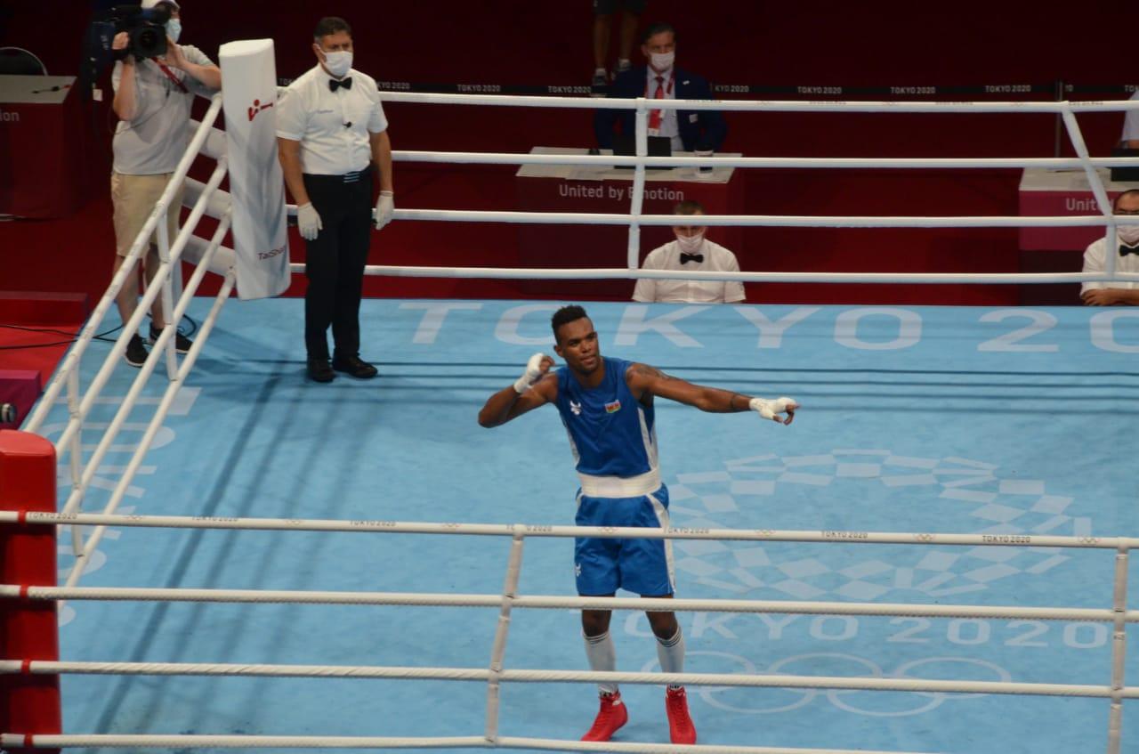 Boksçumuz Olimpiadanın 1/4 finalında - FOTO