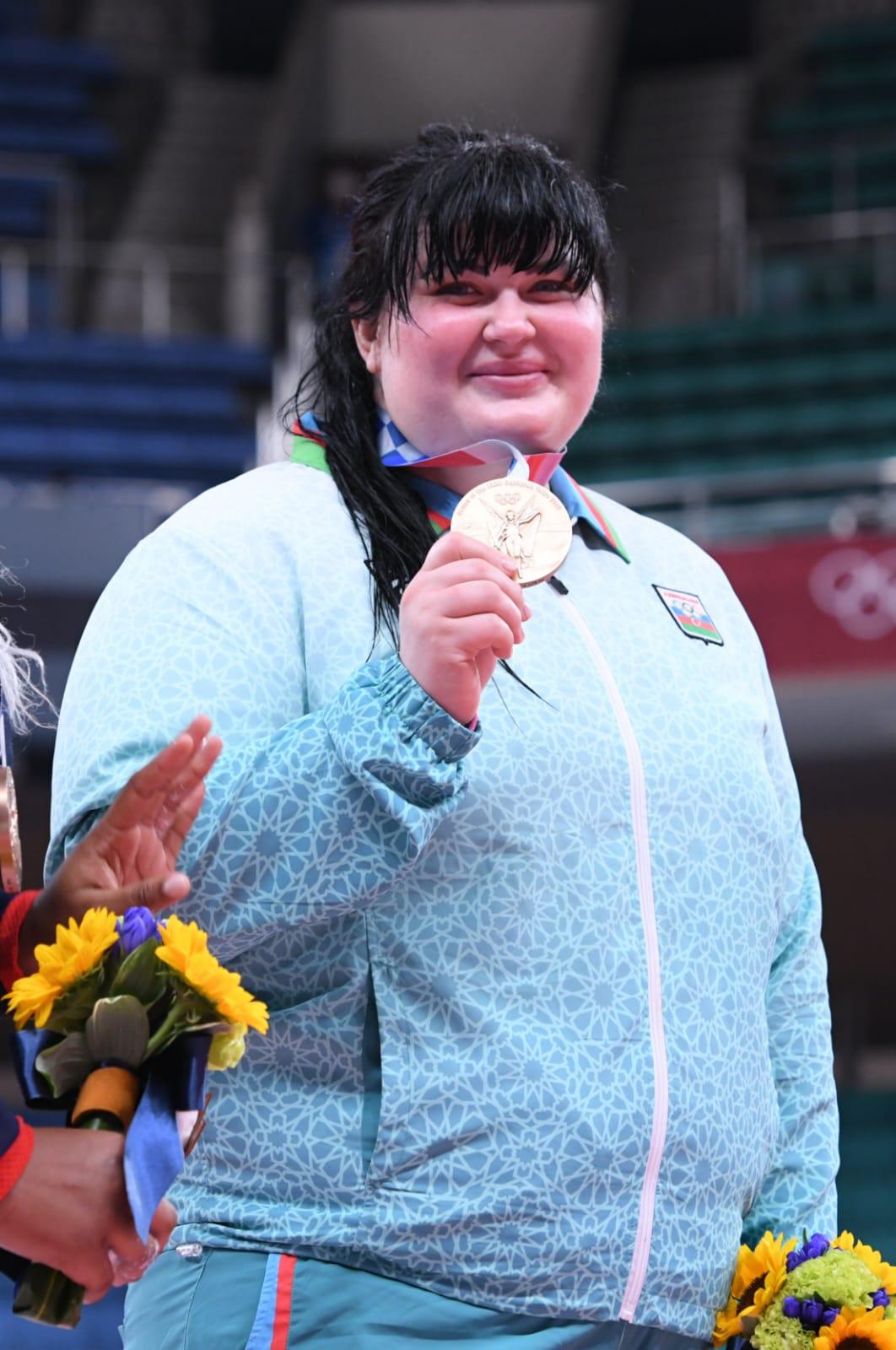 İlk bürünc mükafatla ölkəmiz medal sıralamasında yer aldı