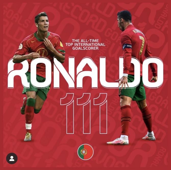 Ronaldodan növbəti rekord göstərici