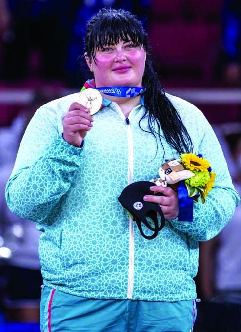 """İrina Kindzerska: """"Gərgin və çətin yolun sonunda Olimpiya Oyunlarının medalı dayanır"""""""