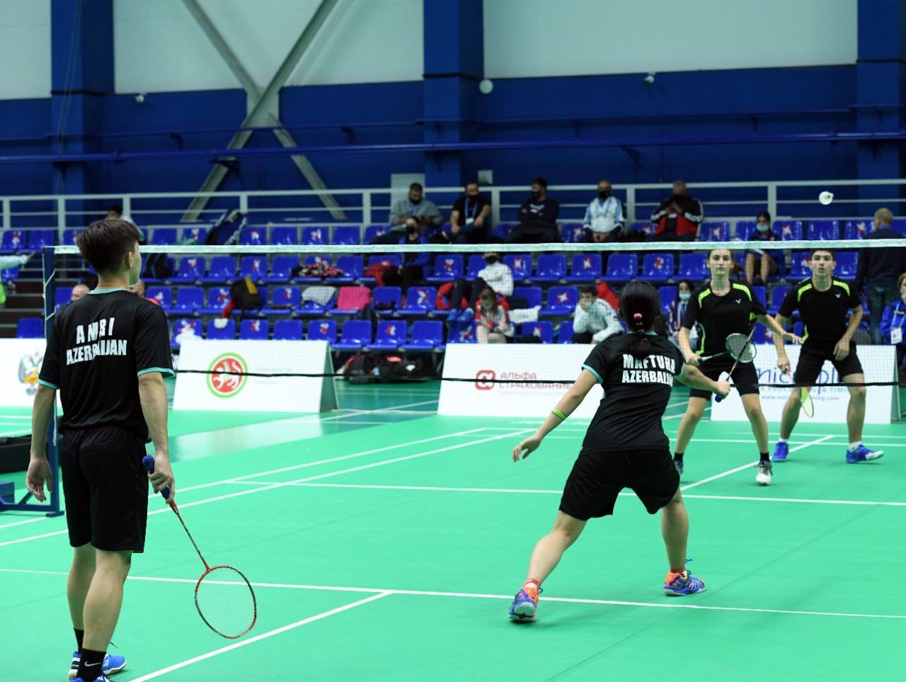 Badminton komandamız MDB Oyunlarının gümüş medalını qazandı