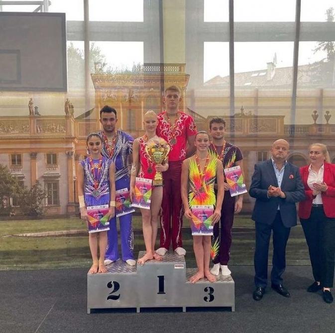 Gimnastlarımızdan beynəlxalq turnirdə uğurlu çıxış