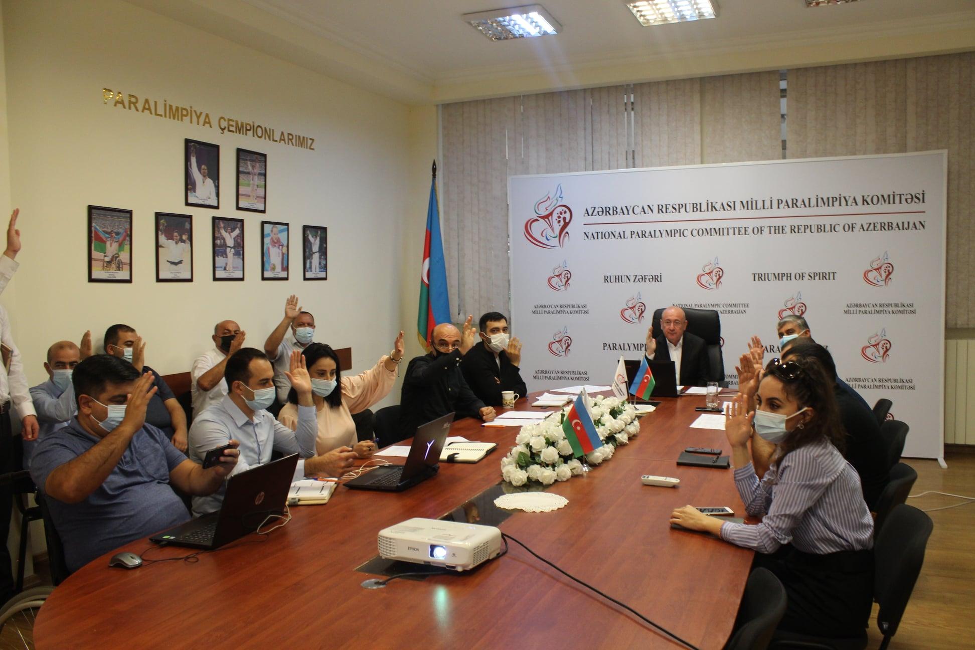 İlqar Rəhimov yenidən Azərbaycan Milli Paralimpiya Komitəsinin prezidenti seçildi