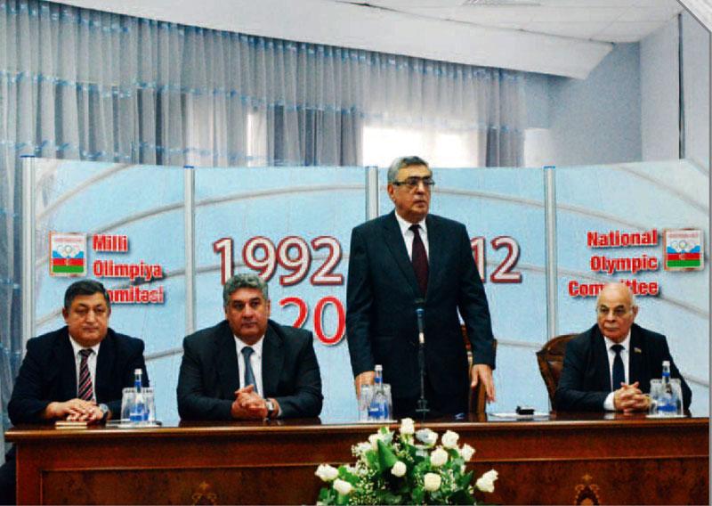 Milli Olimpiya Komitəsi İcraiyyə Komitəsinin növbəti iclası keçirilib