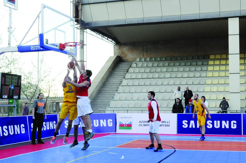 Ölkəmizdə 3x3 basketbolu üzrə beynəlxalq turnir keçirildi