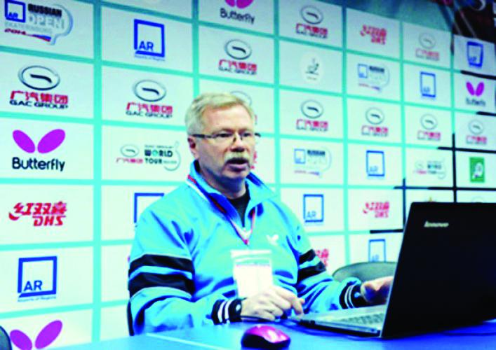 Stolüstü tennis üzrə Rusiya millisinin baş məşqçisi birinci Avropa Oyunları üçün heyəti açıqlayıb