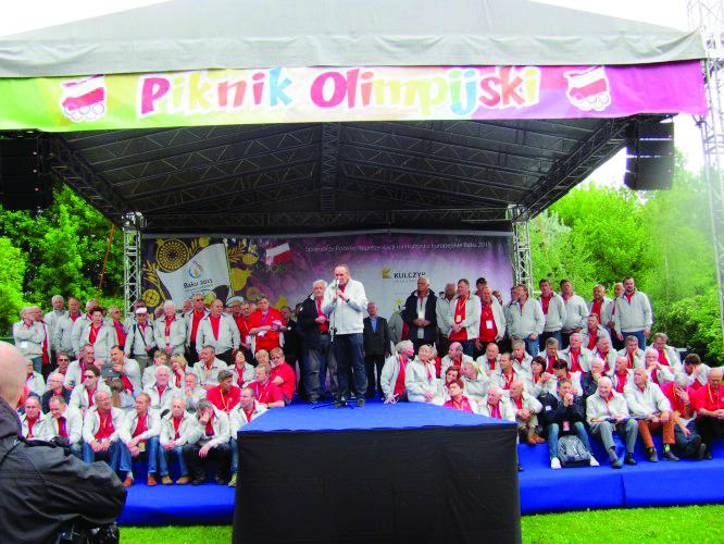 Varşavada Bakı-2015 birinci Avropa Oyunlarının təqdimatı olub
