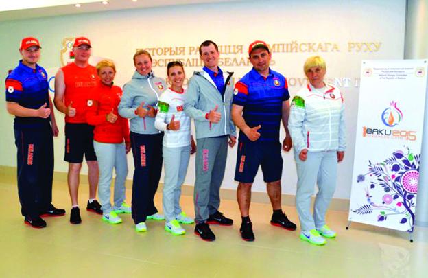 Kamandan oxatma üzrə dünya və Avropa çempionatının mükafatçısı olan Belarus millisi Bakıya 6 idmançı ilə gəlir