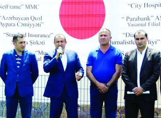 Qan donorları arasında I Açıq futbol çempionatı keçirilib