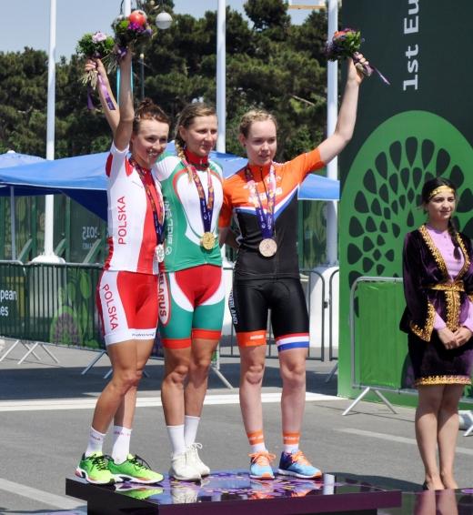 Şosse velosipedi üzrə qadınların yarışına yekun vuruldu