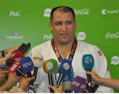 İlham Zəkiyev ilk Avropa Oyunlarının qalibidir