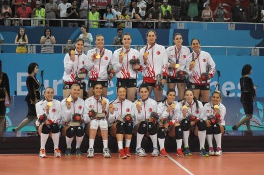 Türkiyə Avropa Oyunlarının çempionudur