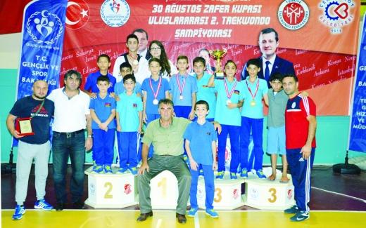 """Taekvondoçularımız """"II Zafer Kupası"""" turnirində"""