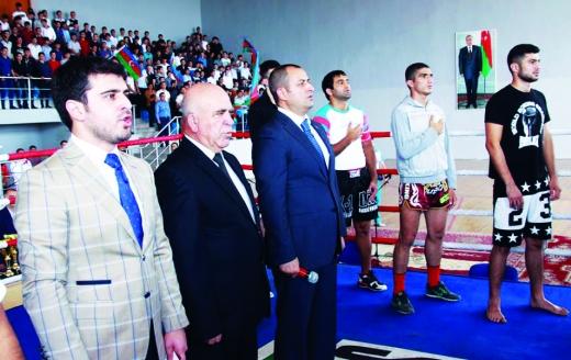Ümummilli liderin xatirəsi Ağdamda kikboksinq turniri ilə yad edilib