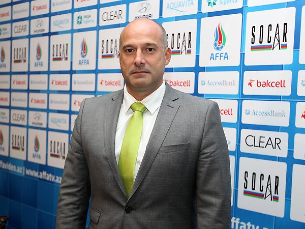 """Faustino Perez: """"Çexiya millisi ilə qarşılaşmamız finala bərabər oyun olacaq"""""""