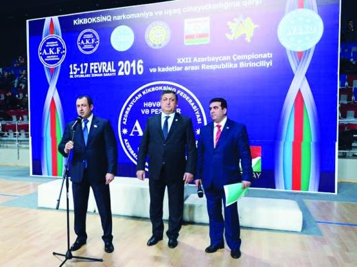 """Adil Əliyev: """"Azərbaycanda kikboksçular nəsli yetişir"""""""