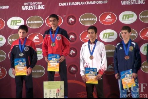 Sərbəst güləş üzrə millimiz Avropa çempionatının gümüş medalını qazanıb