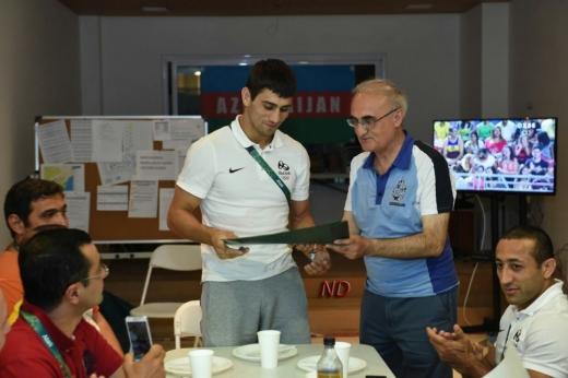 Rio-de-Janeyroda cüdoçularımıza sertifikatlar verildi
