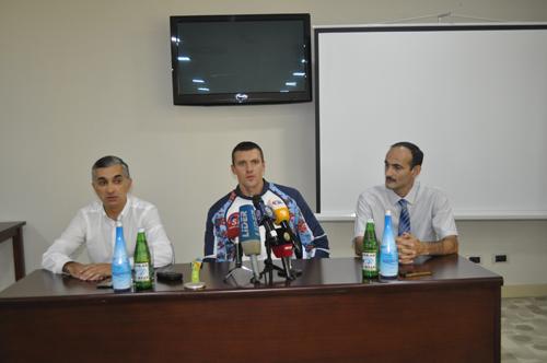 Valentin Demyanenko: «Rio-2016-da qızıl medal qazanmaq üçün bəxtim gətirmədi» - FOTOLAR