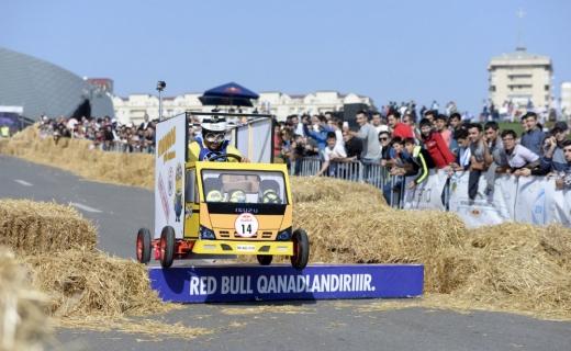 """Bakıda keçirilən """"Red Bull Soapbox"""" yarışının qalibləri müəyyənləşib"""