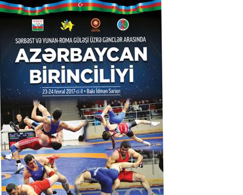 Gənc güləşçilərin Azərbaycan birinciliyi keçiriləcək