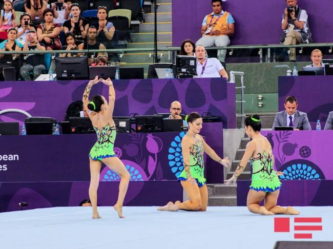 Gimnastikada daha bir qızıl medal qazandıq-YENİLƏNİB