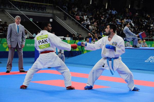 4 karateçimiz finala çıxıb
