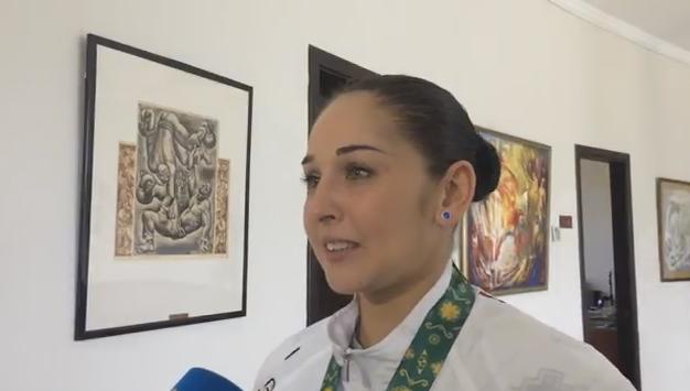 Bakı-2017: Valeriya Məmmədova final haqda danışdı -  VİDEO MÜSAHİBƏ