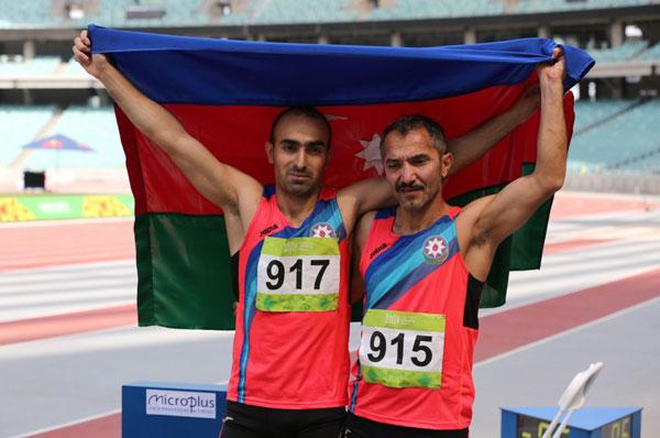 Atletikada 1 qızıl və 1 bürünc medal