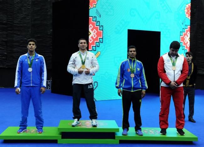 İdmançılarımız zorxana yarışlarını 7 medalla başa vurublar