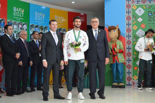 Bakı-2017: Mahir Mədətov çempionluqdan danışdı -  VİDEO MÜSAHİBƏ