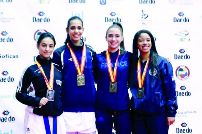 Dünya çempionatında 3 medal sevinci